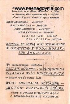 wyd. Warszawskie Towarzystwo MOTOR sp. akc
