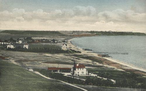 Gdynia wówczas Gdingen, historia rozwoju wsi a potem miasta Gdyni zaczęła się od powstania kąpieliska w Gdyni.