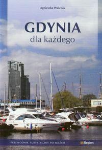 """Walczak Agnieszka """"Gdynia dla każdego"""". W przewodniku przedstawiono osiem różnych tras po wybranych atrakcjach Gdyni. Dziewiąty rozdział stanowi opis dodatkowych miejsc zlokalizowanych poza trasami zwiedzania."""