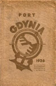 W książce informacje o porcie w Gdyni