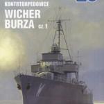 """Jerzy Łubkowski """"Wicher Burza. Tom 1. Kontrtorpedowce"""""""